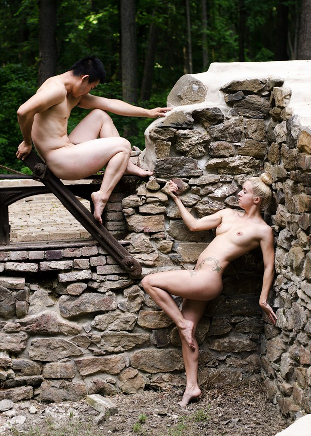 Ivy Lee & Vinny Artistic Nude Photo by Photographer Kor