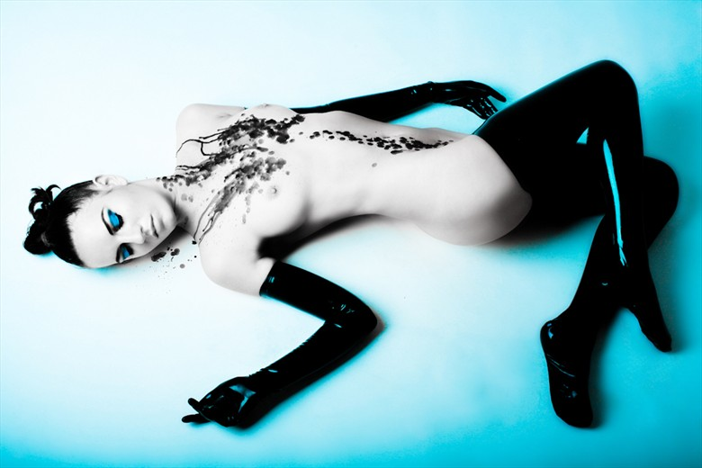 Ivy Rose by Christine Denegate Erotic Photo by Model Ivy Rose Raven