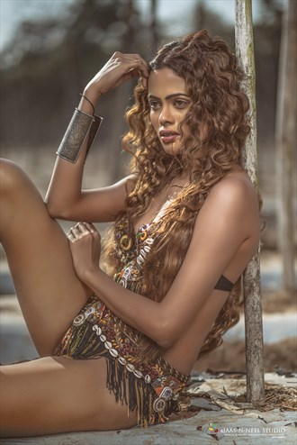 JUNGLE QUEEN Nature Photo by Model RAAVISHREE AMBIGER
