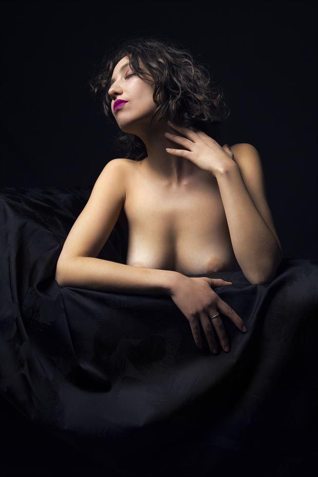 Jade Artistic Nude Photo by Photographer George Ekers