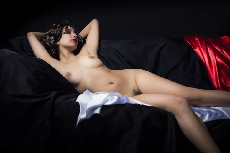 Jade Artistic Nude Photo by Photographer George Ekers