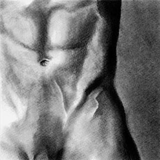 James Artistic Nude Artwork by Artist Nadia Vanilla