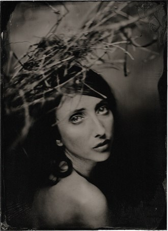 James Wigger 2016. Vintage Style Photo by Model Anoush A