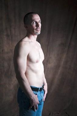 Jeans Figure Study Photo by Model Ben