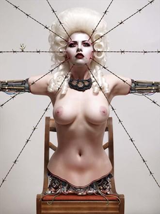 Jeffrey Scott Artistic Nude Artwork by Model Meluxine
