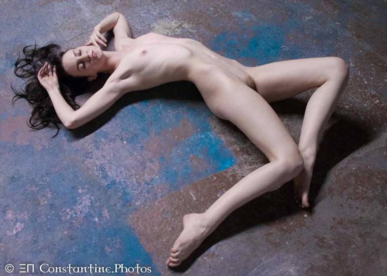 Jenna Floored Artistic Nude Photo by Photographer Constantine.Photos