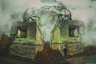 Jesienne westchnienie Surreal Artwork by Photographer Katarzyna Wieczorek