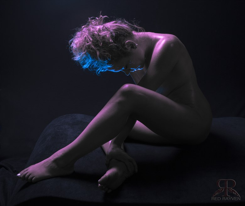 Jessica Artistic Nude Photo by Photographer Red Rayven