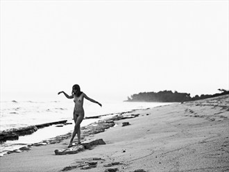 Jilli on the beach Artistic Nude Photo by Photographer Jason Tag