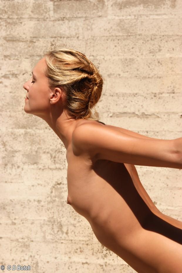 Joceline in California. Artistic Nude Photo by Photographer George Butch