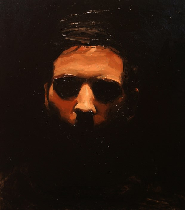 Joe Close Up Artwork by Artist Alec Zemper