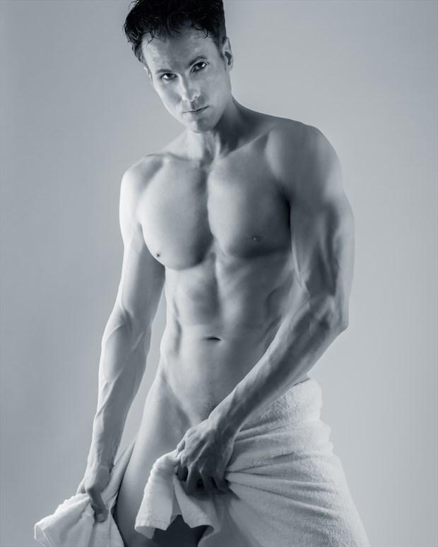 Josh, Towel Shot Artistic Nude Photo by Model josh