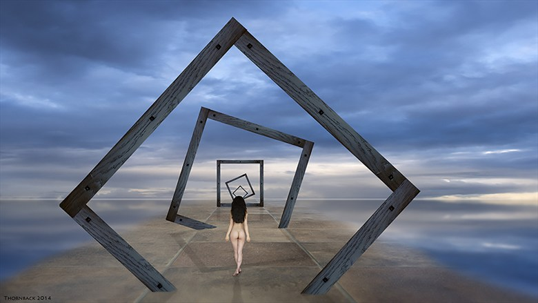 Journey Artistic Nude Artwork by Photographer Thornback