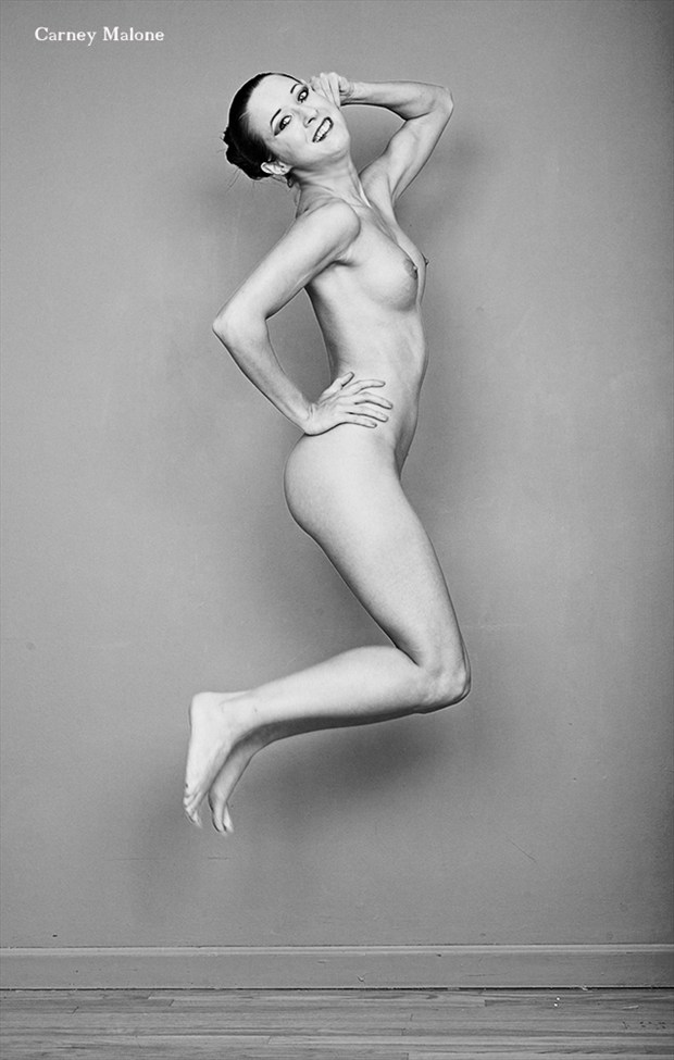 Jump Artistic Nude Photo by Photographer Carney Malone