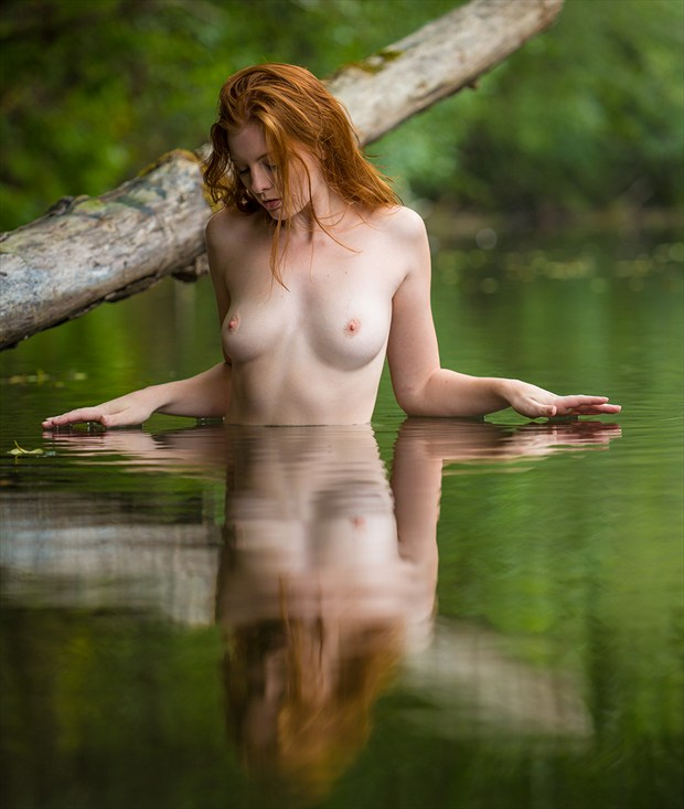 Just Touching Artistic Nude Photo by Photographer Dan West