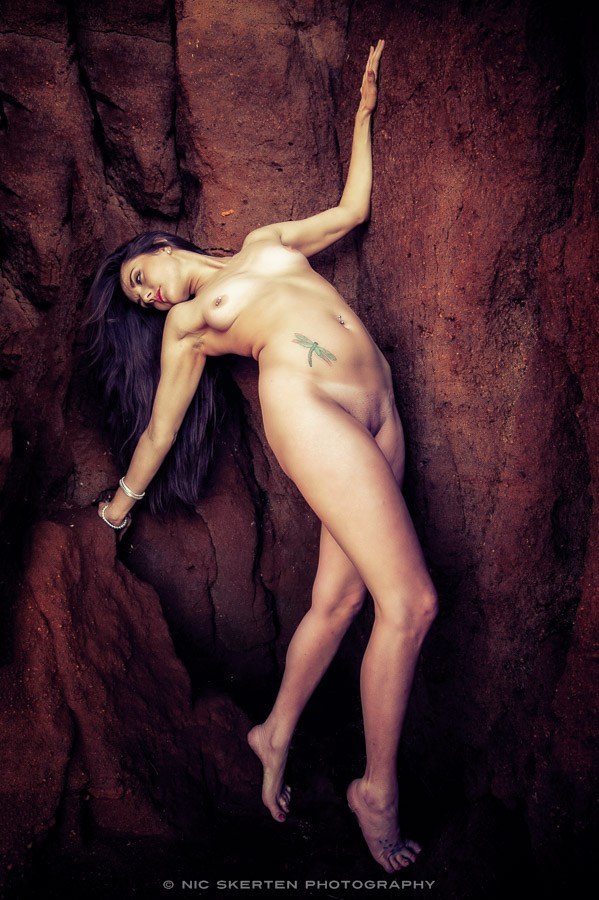 Justine   Cliffs II Artistic Nude Photo by Photographer nicnic