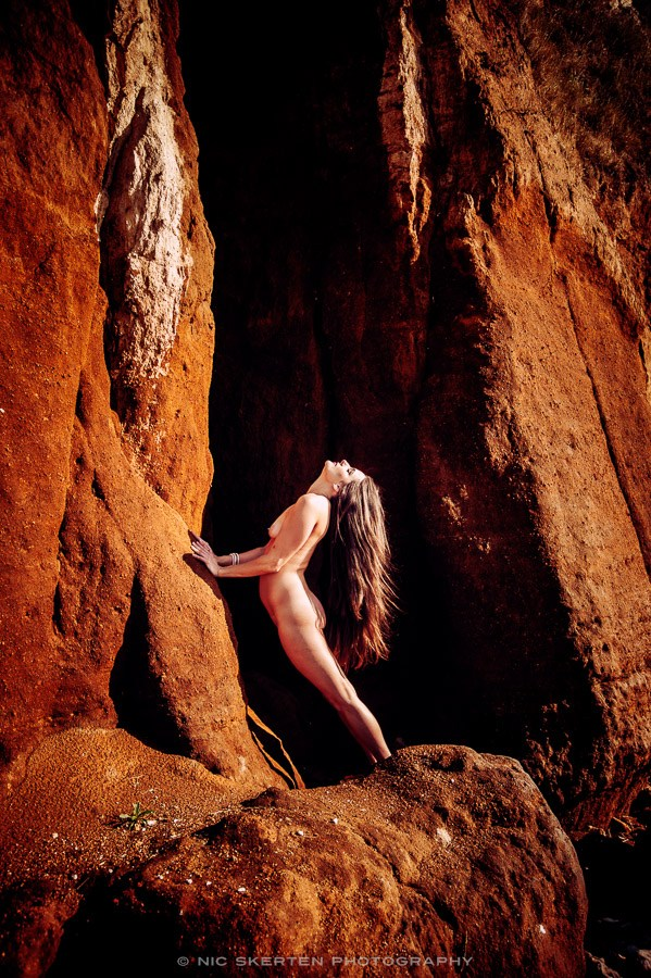 Justine   Cliffs III Artistic Nude Photo by Photographer nicnic