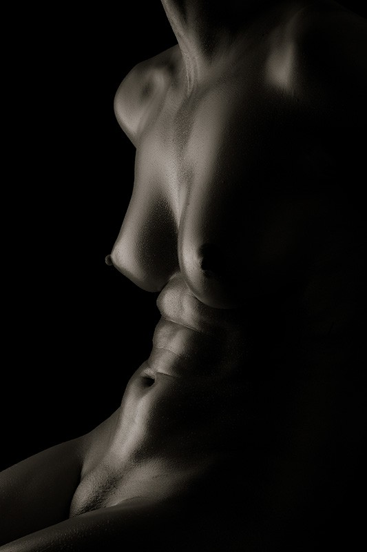 K's torso Artistic Nude Photo by Photographer Eric Kellerman