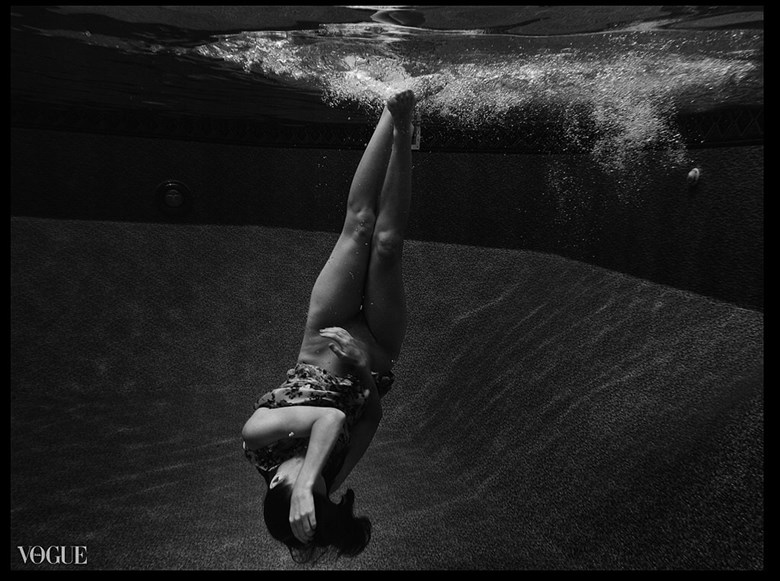 K takes the plunge Artistic Nude Photo by Photographer Steve Y