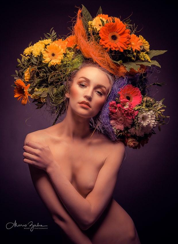 KC  Flower 2 Artistic Nude Artwork by Photographer MZArt