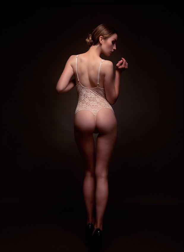 KC back Artistic Nude Photo by Photographer MZArt