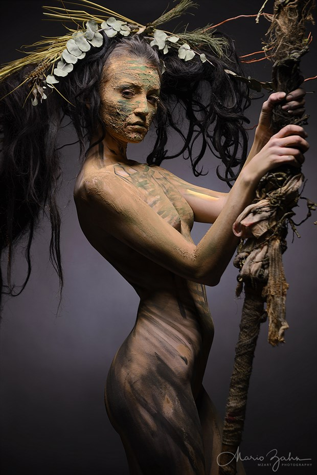 KC in the wood Artistic Nude Photo by Photographer MZArt