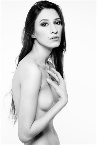 Kate in studio. Artistic Nude Photo by Photographer Big V