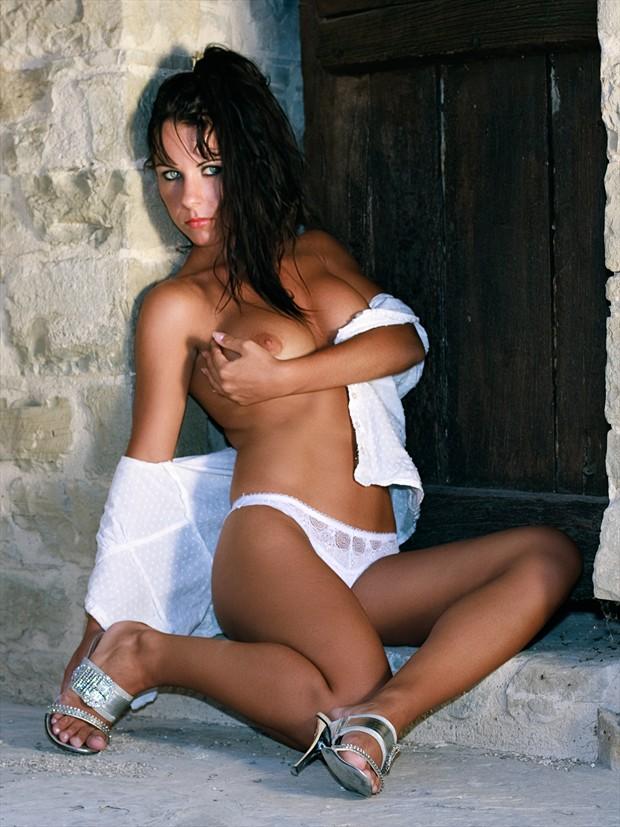 Katerina in the doorway Glamour Photo by Photographer Luigi Prearo