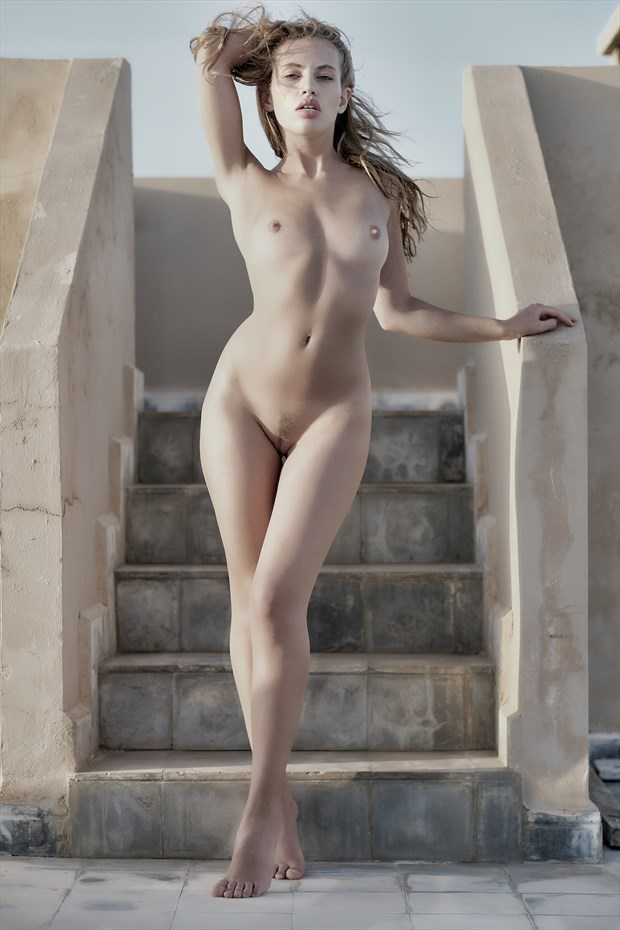 Katia on the roof Artistic Nude Photo by Photographer StromePhoto