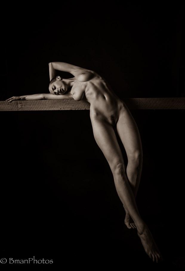 Katlin Tucker Artistic Nude Photo by Photographer BmanPhotos