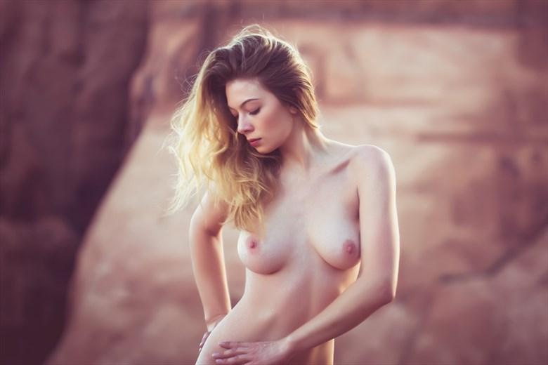 Kayla Totten Artistic Nude Photo by Artist April Alston McKay