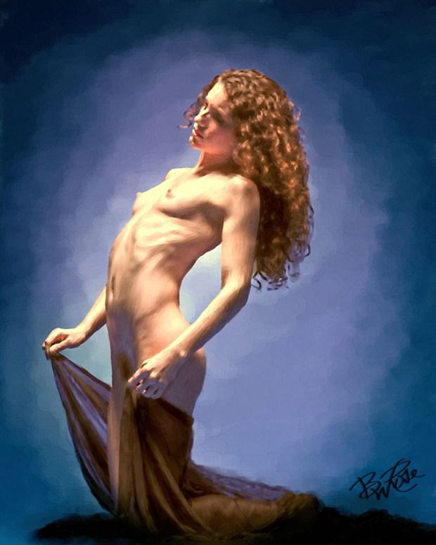 Keira Grant Figure Study Artwork by Artist BWRgrafix