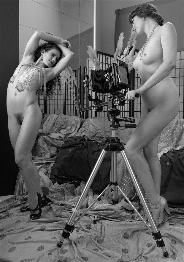 Keira and Augusta Artistic Nude Photo by Photographer FashionMedia