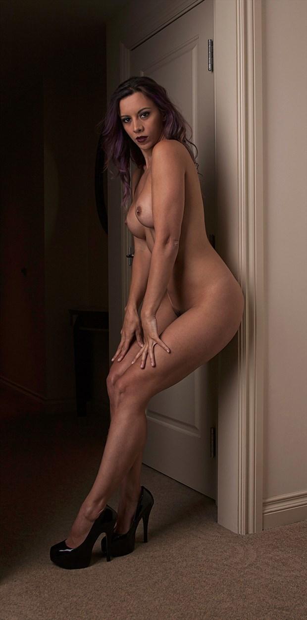 Kerri Doorway Artistic Nude Photo by Photographer Chris Gursky