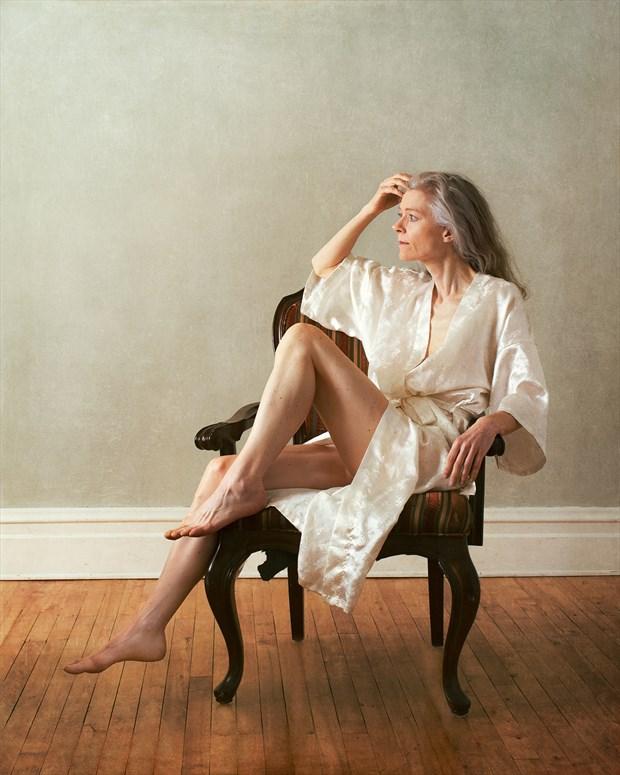 Kimono and Chair Figure Study Photo by Photographer Fischer Fine Art