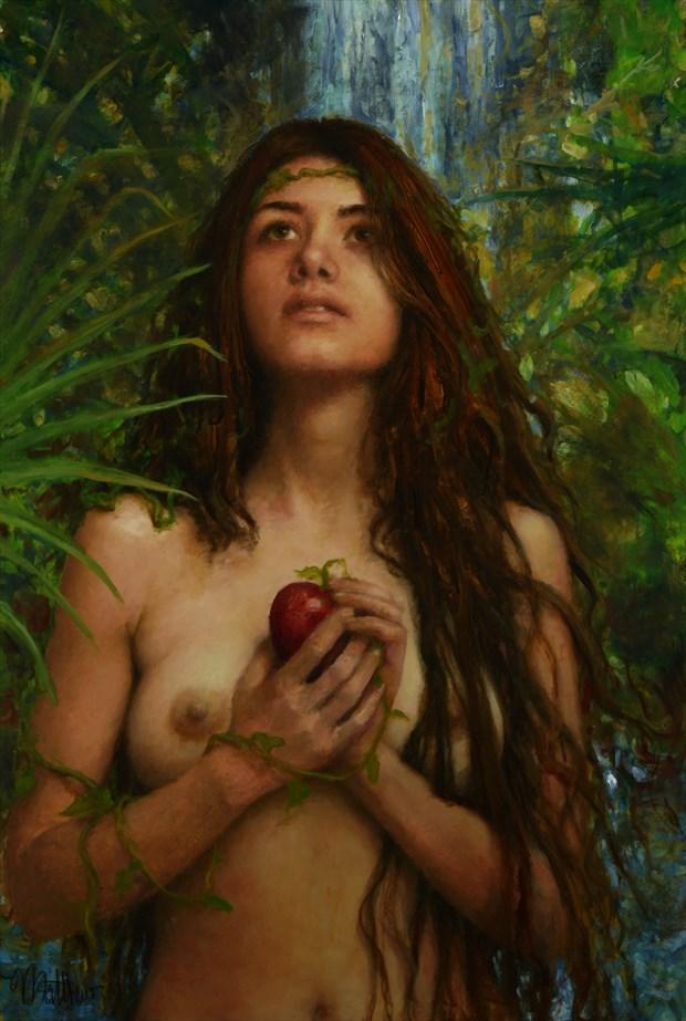 Kinda Evish Artistic Nude Artwork by Artist Matthew Joseph Peak