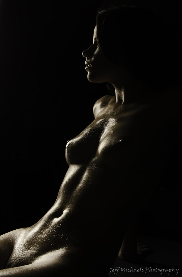 Kiss of light Artistic Nude Photo by Photographer JeffMichaelsPhotography