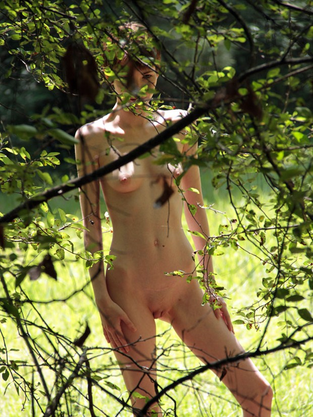 Kitty Artistic Nude Photo by Photographer Leland Ray