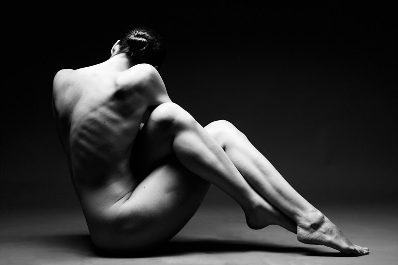 Klassic Kayleigh Artistic Nude Photo by Photographer Richard Maxim