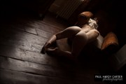 Kneeling Artistic Nude Photo by Model Em Theresa