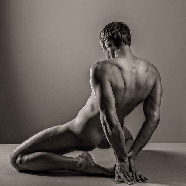 Kris   male nude Artistic Nude Photo by Photographer Barrie