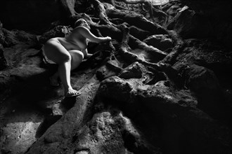 Krista in Dames Cave %234, Lecanto Artistic Nude Photo by Photographer Phillip D Breske