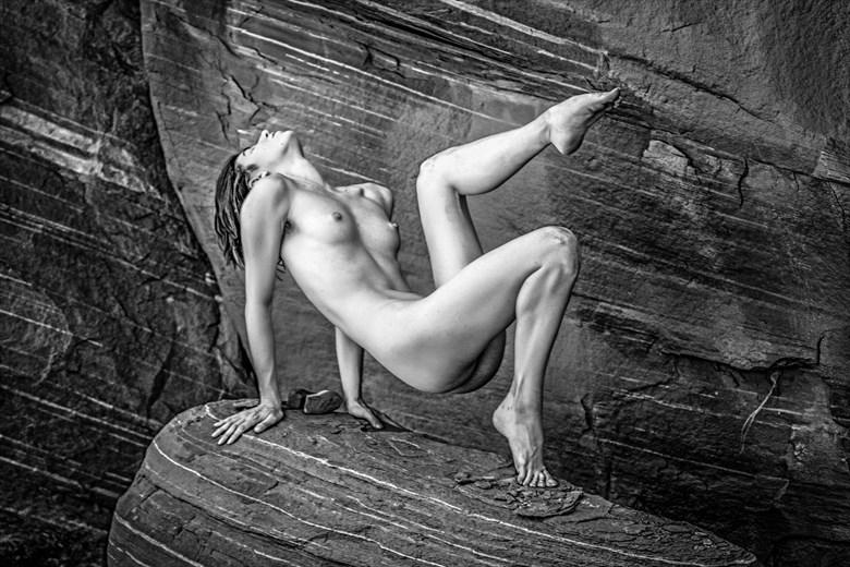 Kyotocat Artistic Nude Photo by Artist April Alston McKay