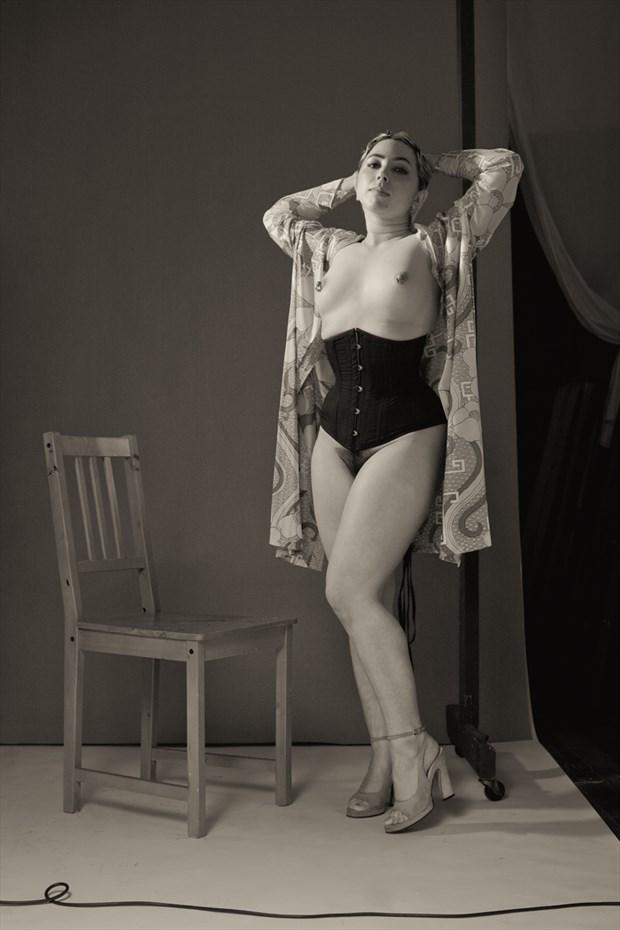 LEDA Artistic Nude Photo by Photographer Kelly Rae Daugherty