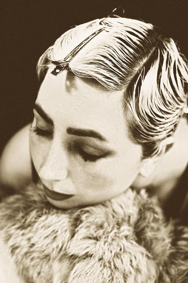 LEDA Vintage Style Photo by Photographer Kelly Rae Daugherty