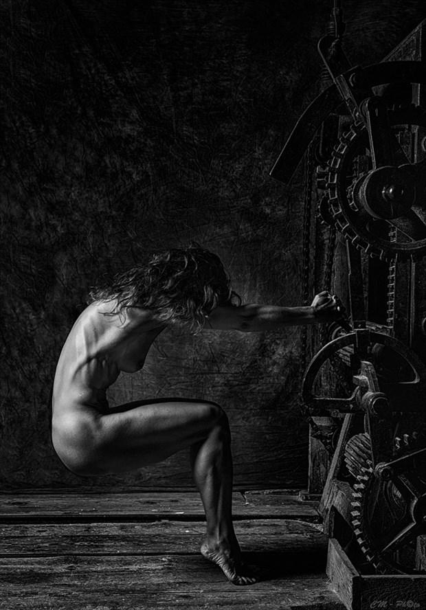 La Macchina Artistic Nude Artwork by Photographer CM Photo