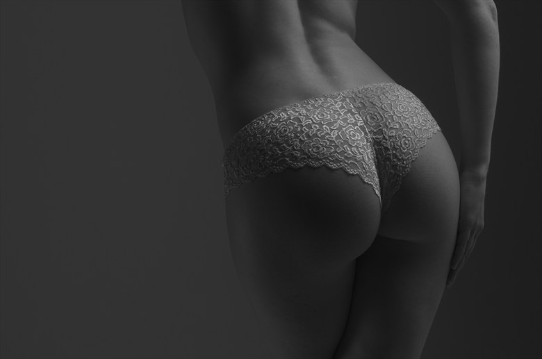 Lace Artistic Nude Photo by Photographer Randall Hobbet
