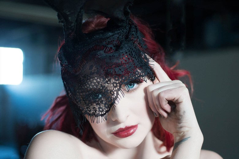 Lace Close Up Photo by Model Cat Ropo