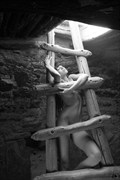 Ladder Artistic Nude Photo by Photographer Inge Johnsson