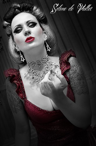 Lady Death Fantasy Photo by Model Selene de Viollet